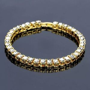 Other - Iced Out Gold Simulate Diamond Luxury Bracelet